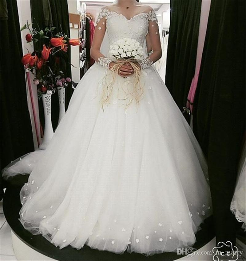 Discount Exquisite Plus Size Country Beach Wedding Dresses 2018 A ...