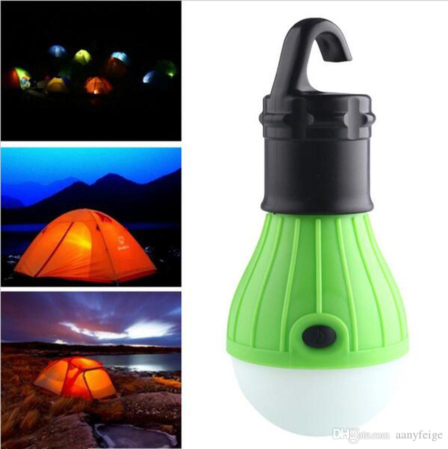 Soft Light Outdoor Hanging Led Camping Tent Light Bulb Fishing Lantern Lamp Wholesale Bright