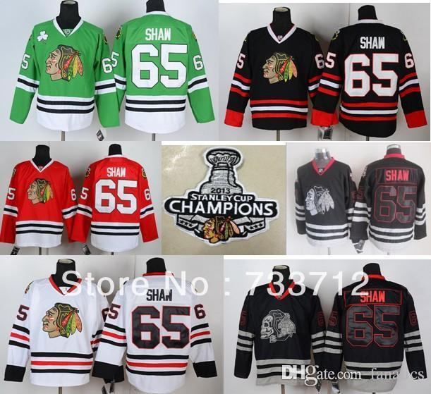 2018 2016 2013 stanley cup champions patch chicago blackhawks 65 andrew shaw hockey jersey red green white black from fanatics 25.73 dhgate