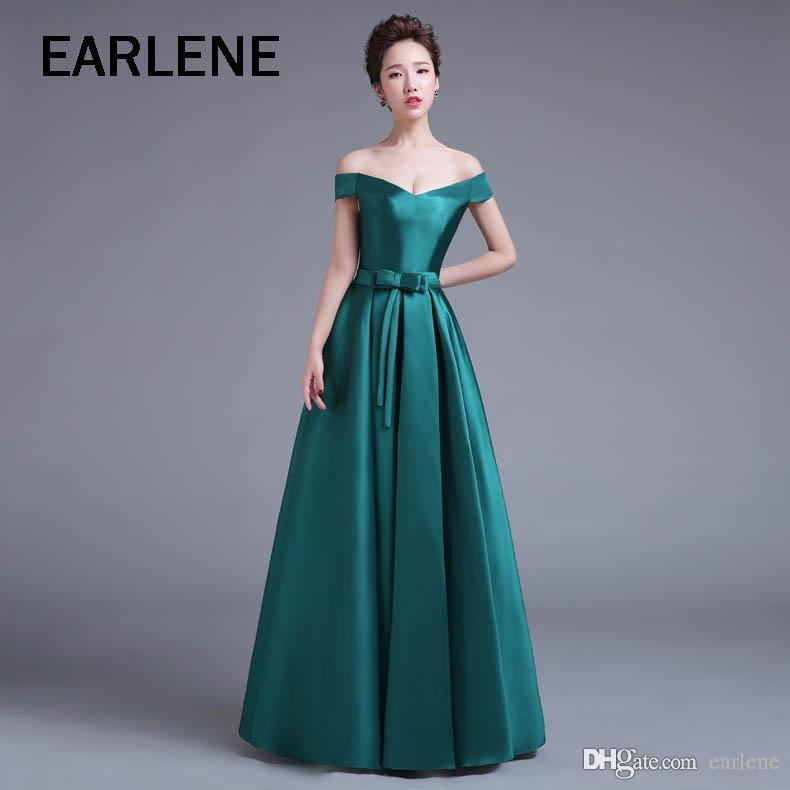 Weibe lange elegante kleider