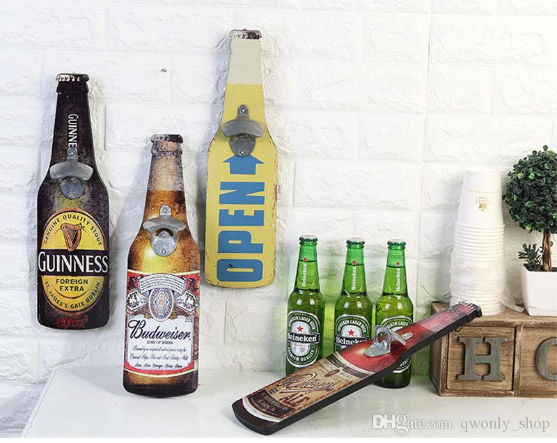 Decorative Wall Mount Bottle Opener