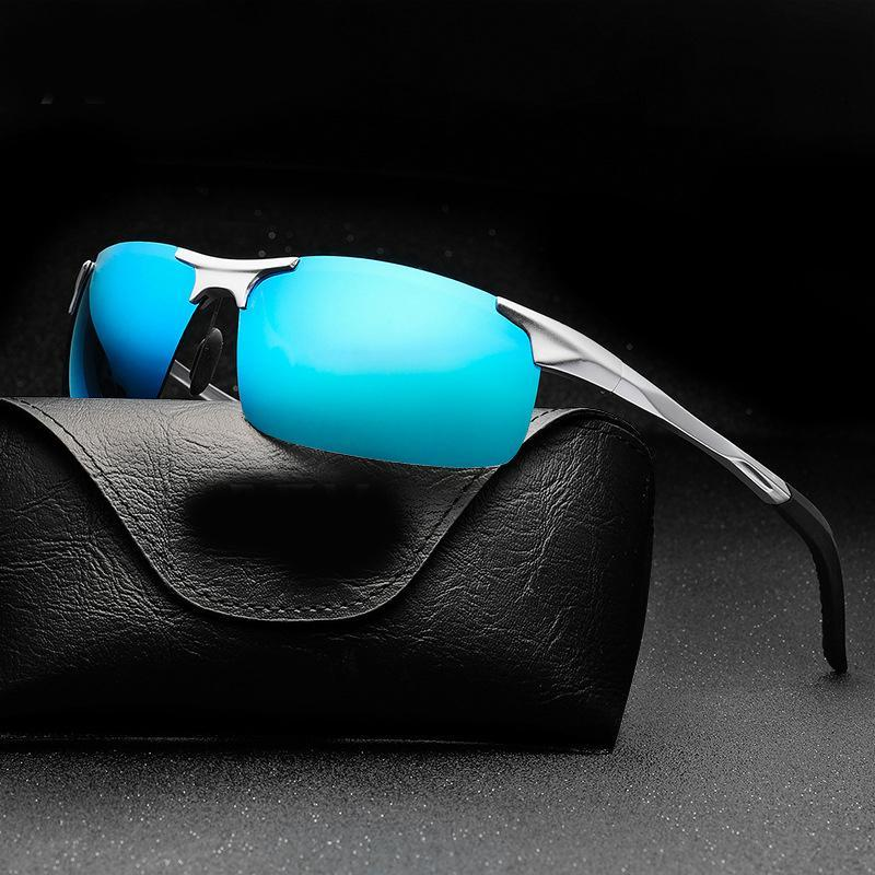 346b31fbce8 Fashion Designer Men s Sunglasses HD Polarized Luxury Brand Sun ...