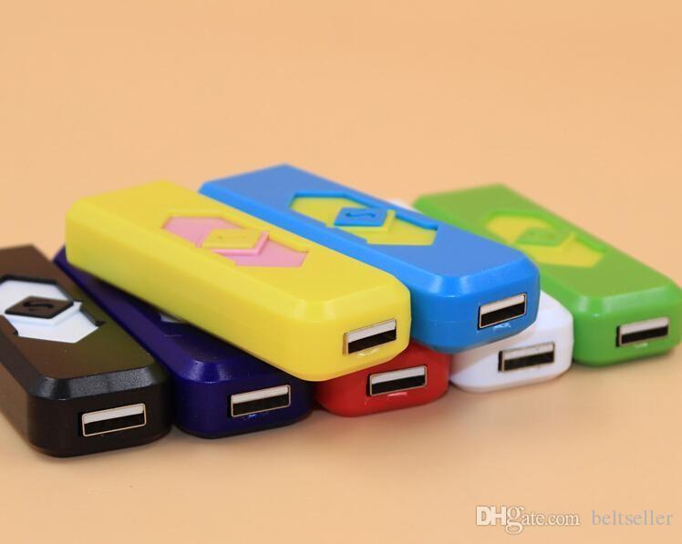 USB電子充電式フレームレスシガーシガータバコライターLED充電式タバコフレームレスライター防風ウシUSBライター