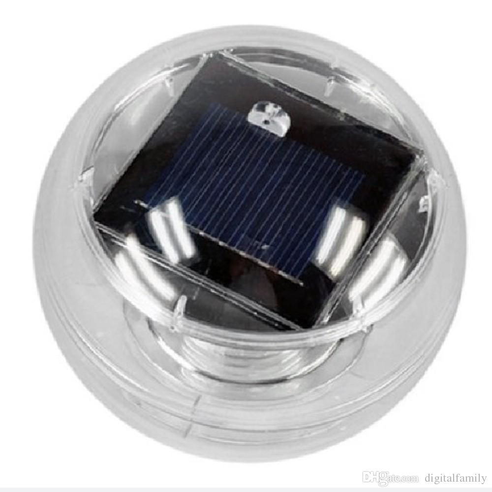 Yeni Su Geçirmez Havuz Güneş Enerjisi RGB LED Yüzer Işık Lamba 2 V 60mA Açık Bahçe Gölet Peyzaj Renk Değiştirme güneş havuzu bahçe Işıkları