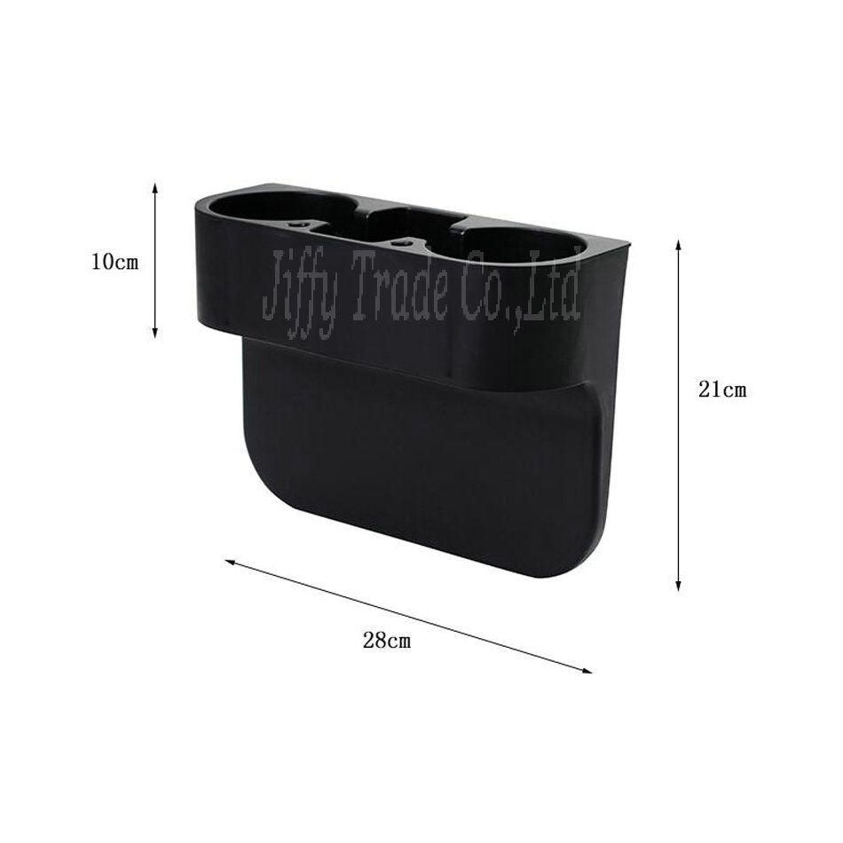 Nuovo portatile multifunzione veicolare porta cellulare porta cellulare porta bevande portaoggetti Accessori auto colro: nero