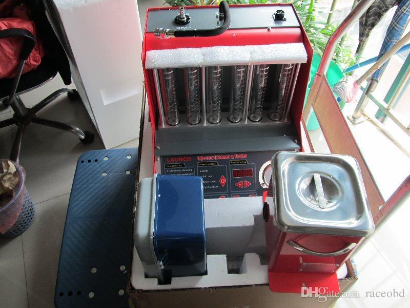 حاقن الوقود اختبار ونظافة 100٪ إطلاق CNC-602A CNC602A حاقن الأنظف واختبار 220 فولت / 110 فولت مع لوحة الانجليزية شحن مجاني