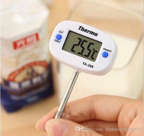 Digital Cooking Food Probe Meat Thermometer Kitchen BBQ Pen Type Thermometer accuratly