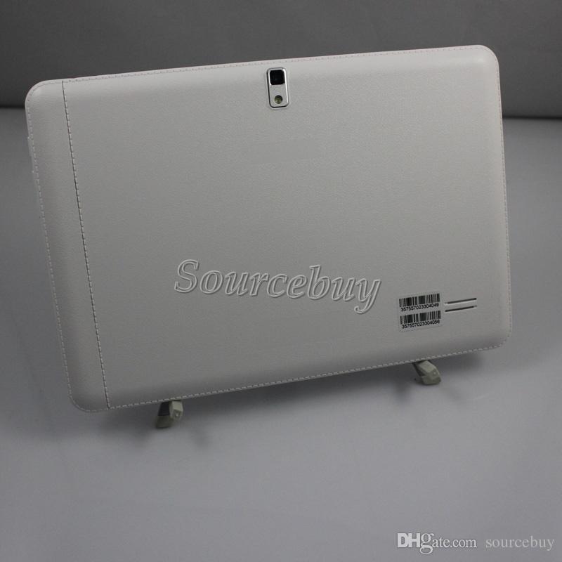 مكالمة هاتفية الكمبيوتر اللوحي المزدوج سيم كاميرات Phablet MTK6572 ثنائي النواة 10 بوصة Android4.4 RAM مفتوح 1GB ROM 8GB WIFI GPS بلوتوث