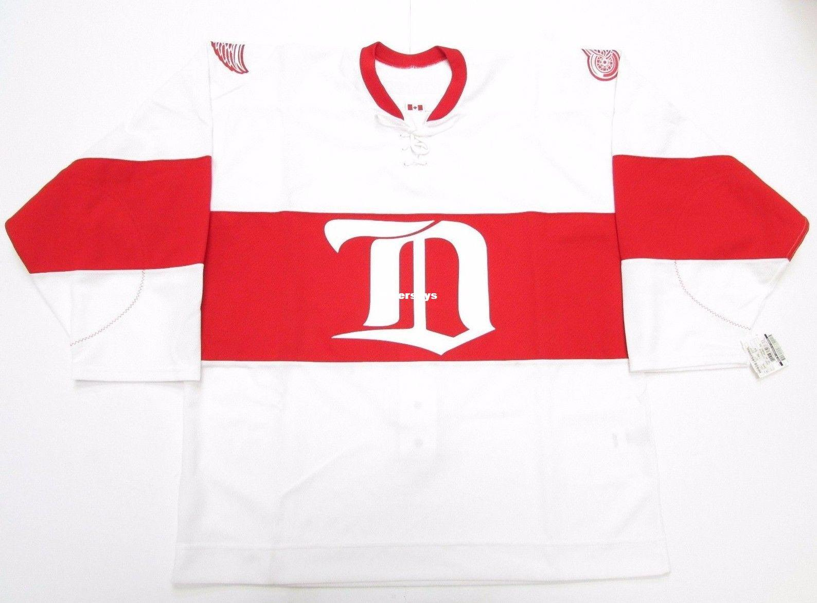 c9e5fd2bd ... vintage ccm hockey jersey mens throwback jerseys  2018 cheap custom  detroit red wings authentic white winter classic alumni ccm 6100 jersey  white thro