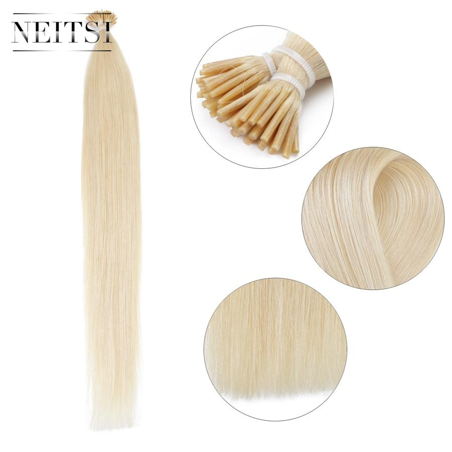22 Neitsi 20inch Straight Human Hair Extension Ombre Two Tone