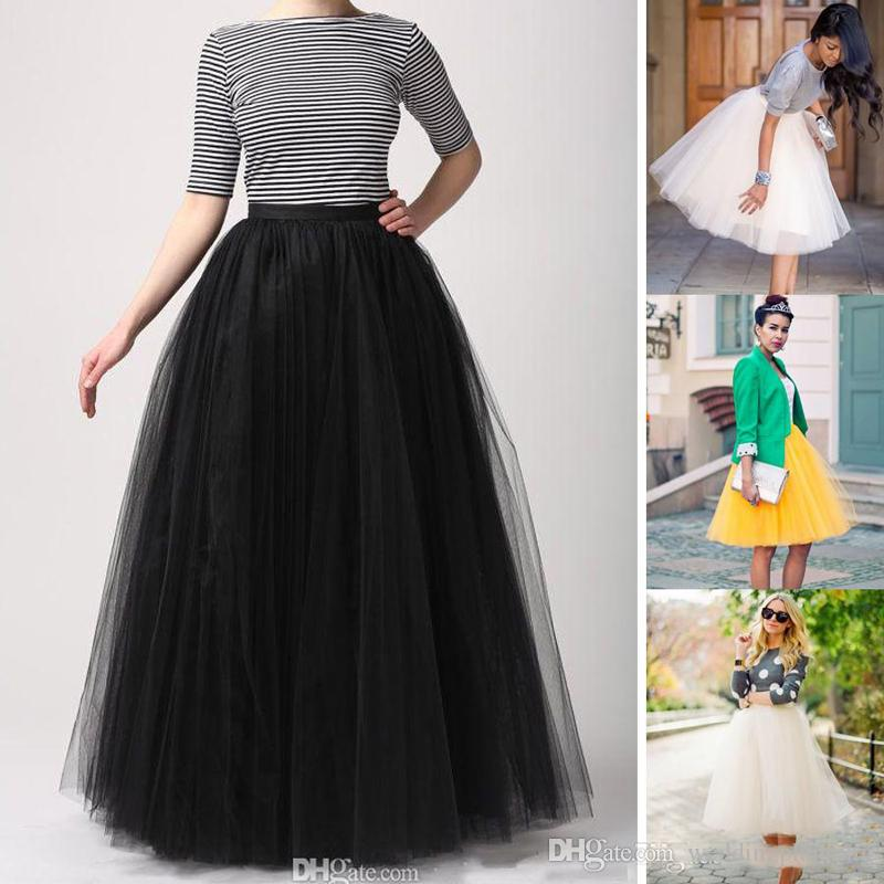 Factory Custom Made Women Tutu Skirts Fashion Party Dress Floor Length Adult Long Girl Tulle Prom Gowns A Line Plus Size Petticoat Skirts Petticoats And Slips Ball Gown Petticoat From Weddingplanning, $20.11| DHgate.Com