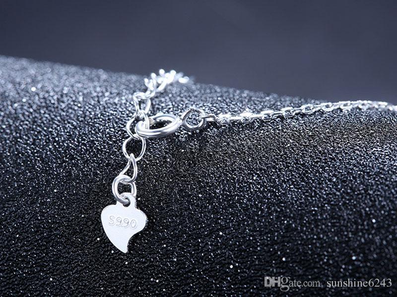 S990 gümüş inci kolye kolye tatlı su inci kolye S990 saf gümüş ayçiçeği kazak zinciri moda takı