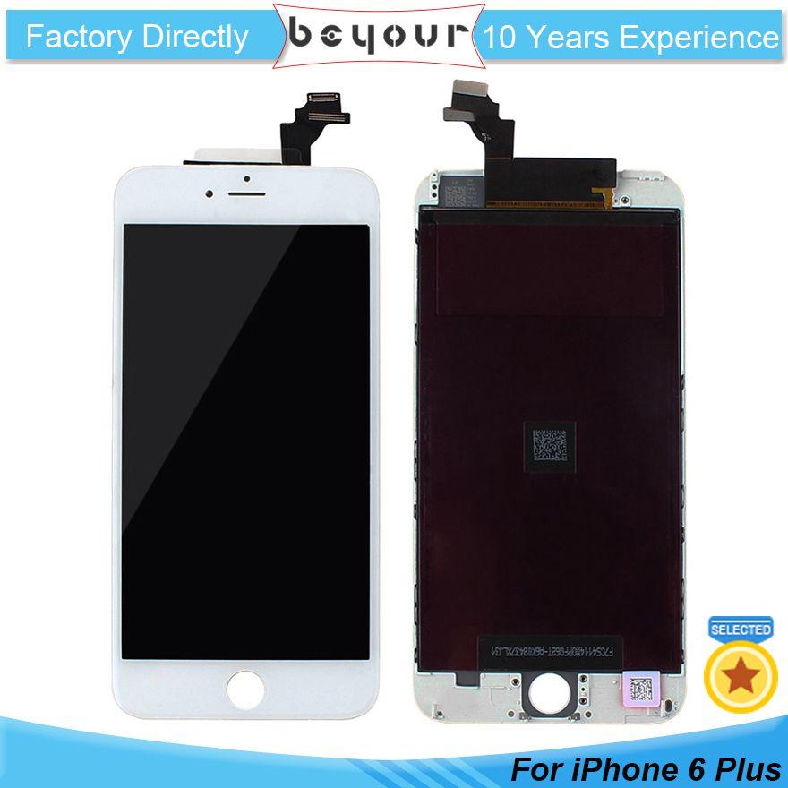 5aec119845b Pantallas Para Moviles Pantalla LCD De Grado AAA Para IPhone 6 Plus Pantalla  Táctil Digitalizador Paneles De Reparación Pequeños Con Reemplazo De Marco  ...