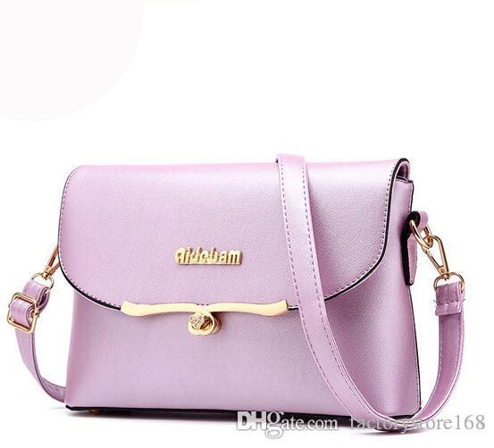 db03fa1b2f6e 2017 Dress style clamshell womens messenger handbags PU leather shoulder  handbags crossbody bags for ladies