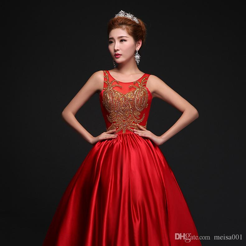 Red dress up chest