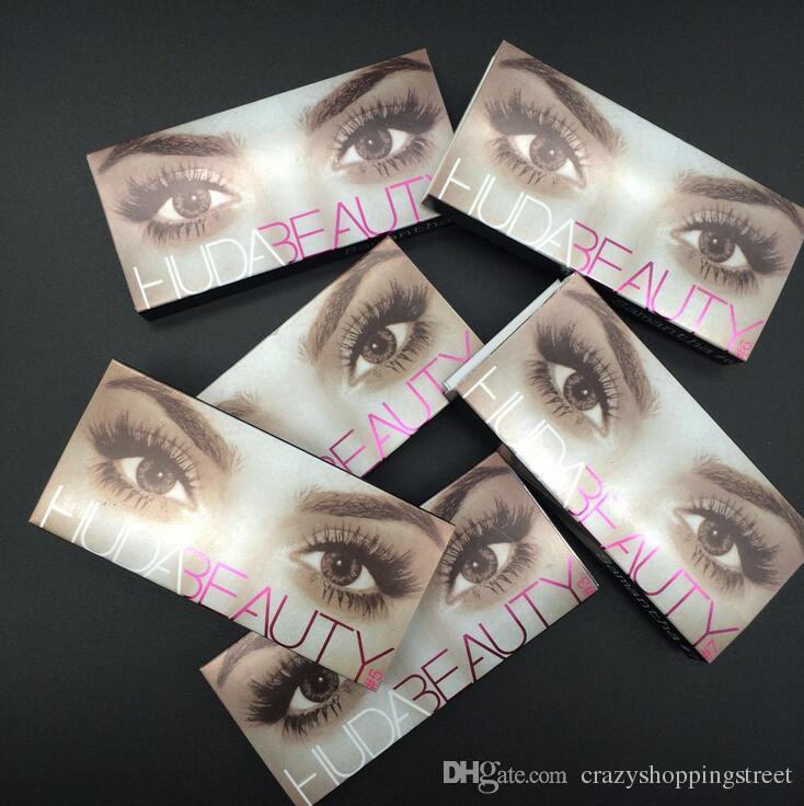 6188b1ed384 Huda Beauty False Eyelashes Hair Handmade Messy Cross Fake Eye ...