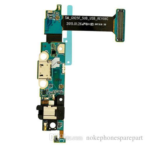 Puerto Muelle de carga USB cargador de reemplazo Flex Cable para Samsung Galaxy S6 Edge