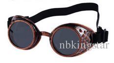 Vintage Steampunk Occhiali da sole Goggles Welding Punk Gothic Occhiali Cosplay Unisex Gothic Vintage Victorian Style Occhiali da sole i