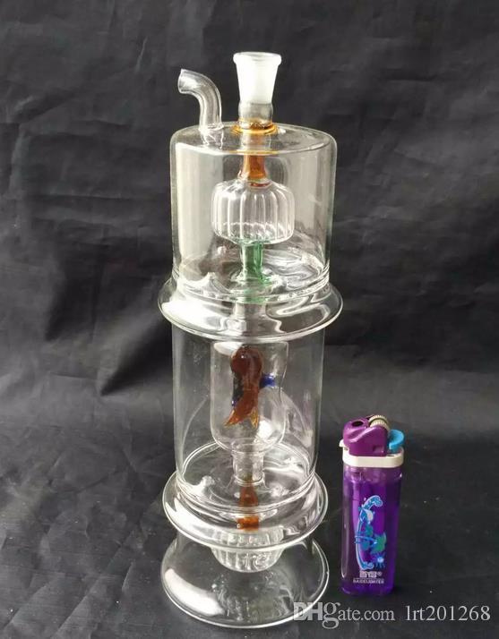 Bongos de vidro sereia - tubo de fumar hookah de vidro Gongos de vidro - plataformas de petróleo bongos de vidro cachimbo de água hookah de vidro - vaporizador vaporizador