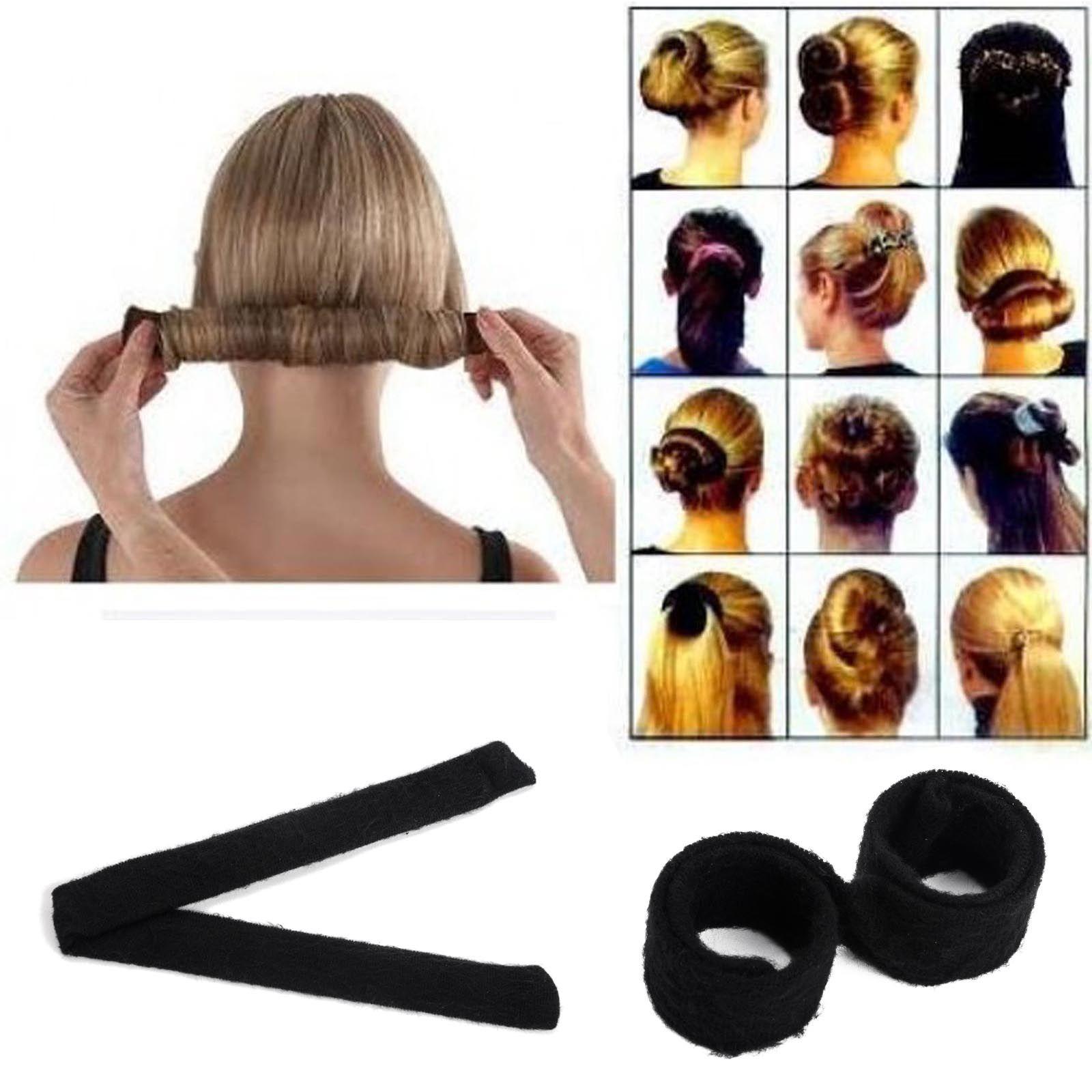Black Women Hairagami Hair Bun Updo Fold Wrap Amp Snap Magic