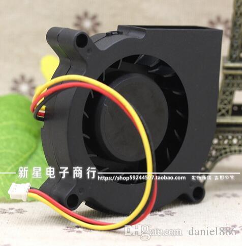 Atacado: Sunon GB1206PHV3-AY 12V 0.5W 6CM 60 * 60 * 15 3 velocidade do fio ultra silencioso turbo ventilador