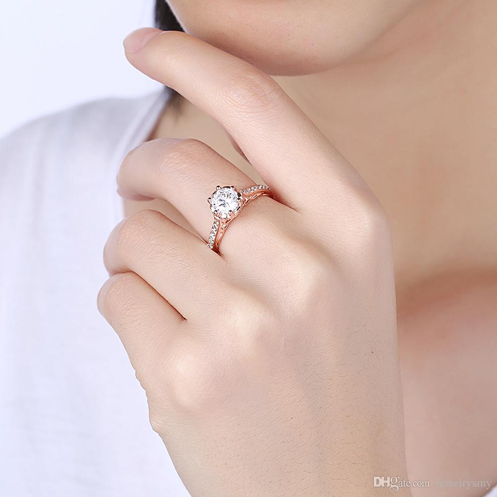 2018 Fashion K Gold Elegant Fashion Ladies Jewelry Personality High ...