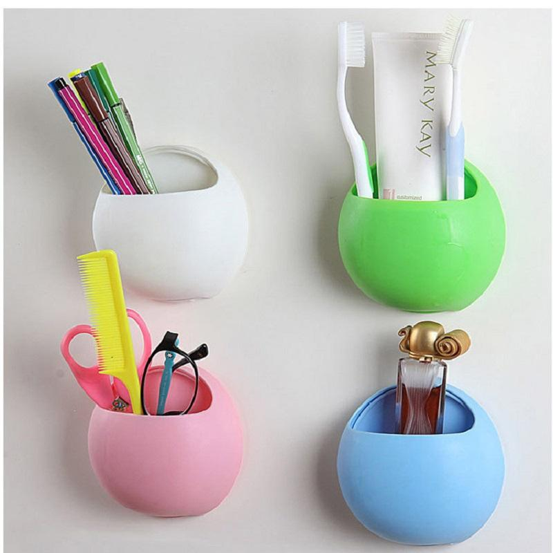Cute Eggs Design Toothbrush Holder Suction Hooks Cups - Bathroom cup holders wall mount for bathroom decor ideas
