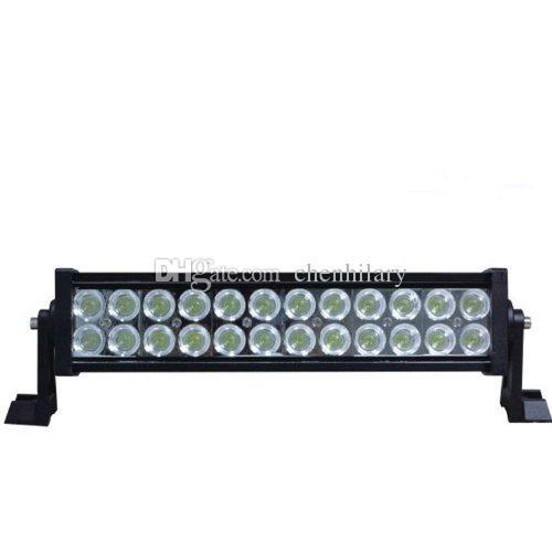 13.5 ''72W 자동차 작업 표시 줄 24X3W led drl barra spot flood 콤보 4x4 Offroad 차량 트럭 운전 안개 램프