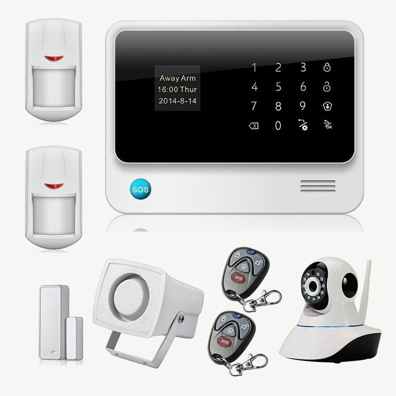 Großhandel Wireless Gsm Home Security Alarmanlage Ios Android ...