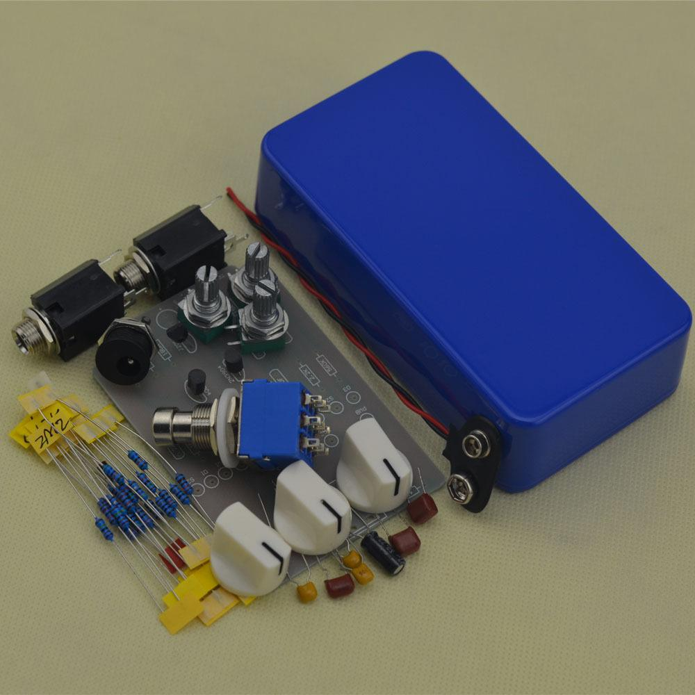 Build your own NEW DIY Blue Tremolo Pedal@DIY Tremolo Pedal Kit -DIY Guitar Pedal kit