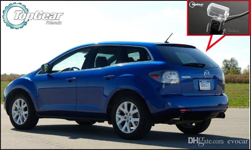 Compre Câmera De Carro Para Mazda Cx 7 Cx7 Cx 7 2007 ~ 2013 De Alta  Qualidade Traseira Back Up Camera Para Pal / Ntsc | Ccd + Rca De Evocar, ...