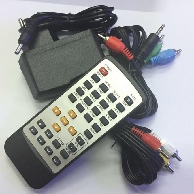 1080P Full HD HDD H6W Media Player INPUT SD/USB/HDD Output HDMI/AV/VGA/AV/YPbpr Support DIVX AVI RMVB MP4 HD Multimedia Player