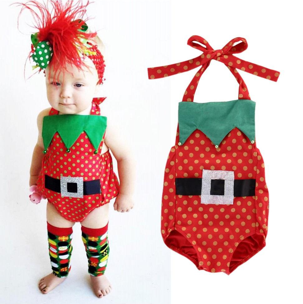 Newborn Baby bodysuit boys Girls Christmas best gift for kids Cotton high quality Romper boy girl Jumpsuit Sleeveless top Clothes wholesale