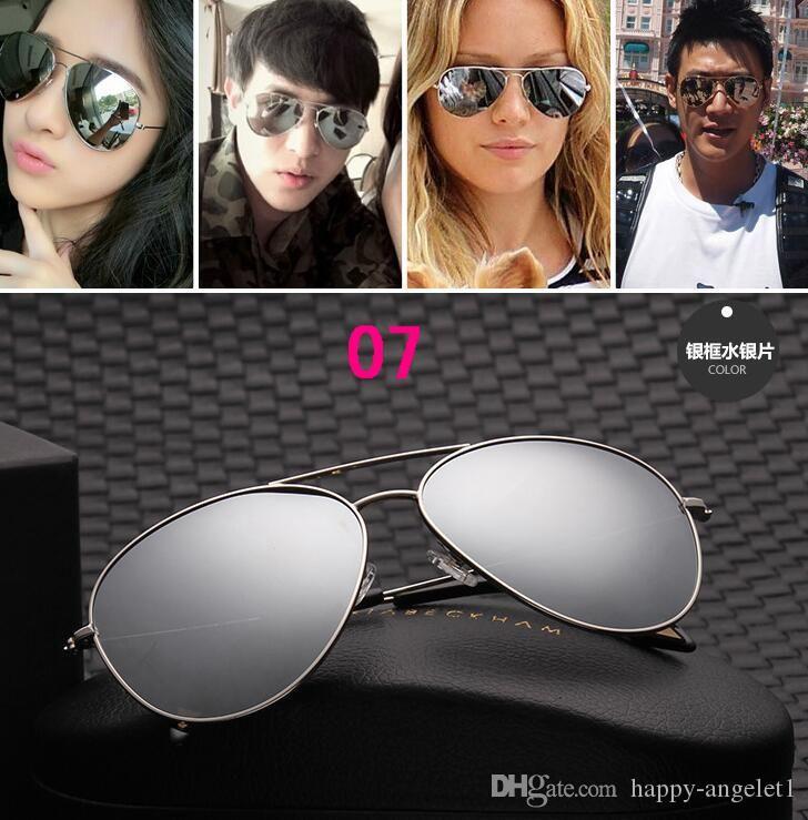 Nova venda quente Victoria Beckham Mulheres Homens Sun Óculos de Revestimento VB VB Óculos De Sol Olho Vidro Polaroid Lentes Grandes Com Caso