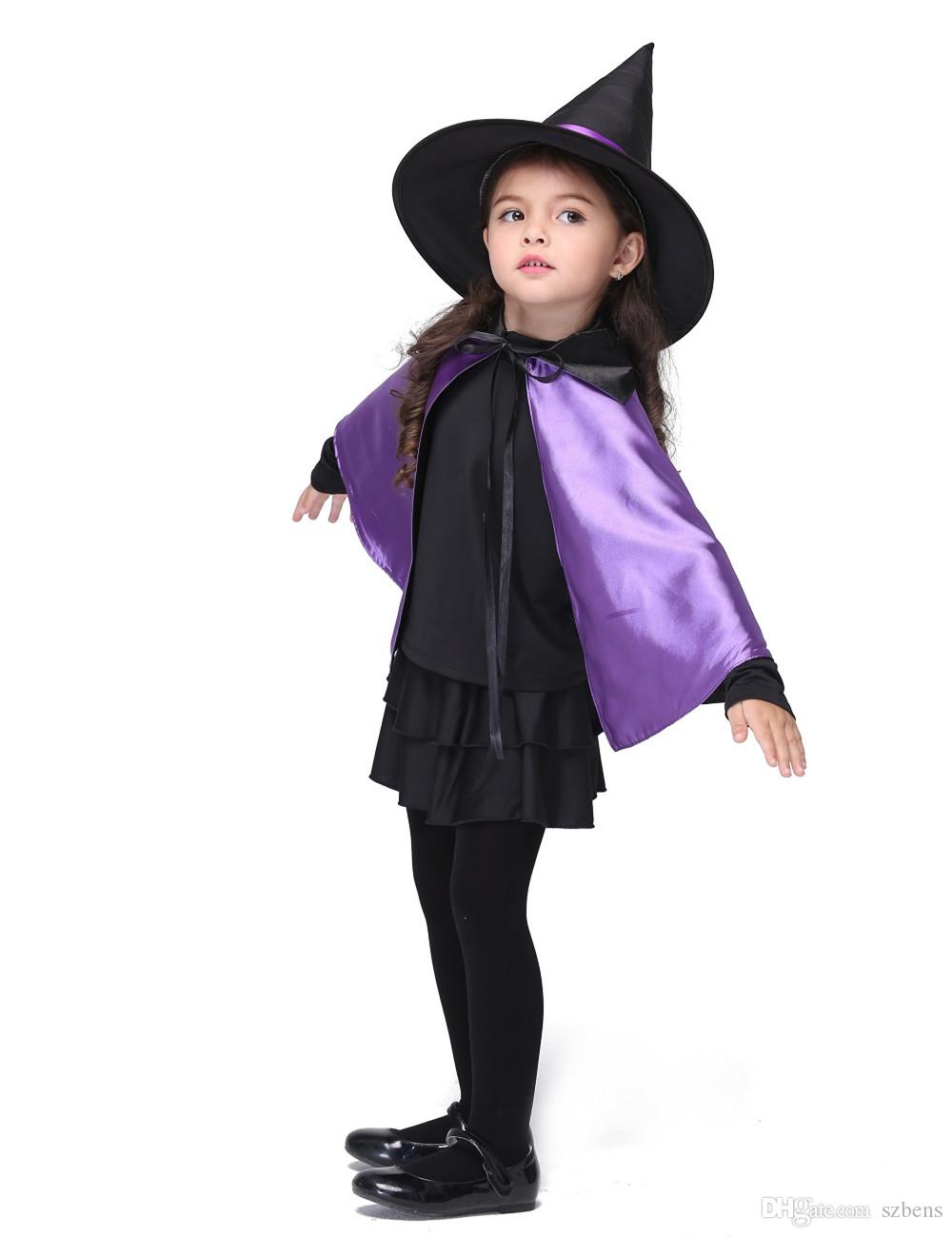 witch costume halloween costume for kids stage & dance wear girls