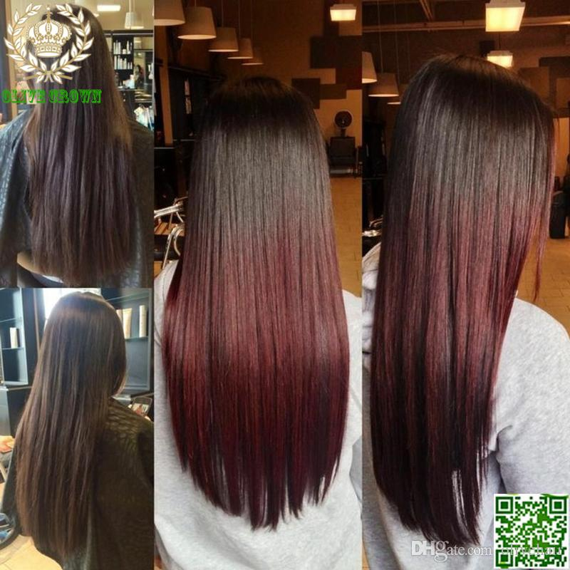 Cheap Brazilian Ombre Straight Lace Wig Full Lace Human Hair Wig Silky Straight Human Hair Glueless Lace Front Wig AAAAAA