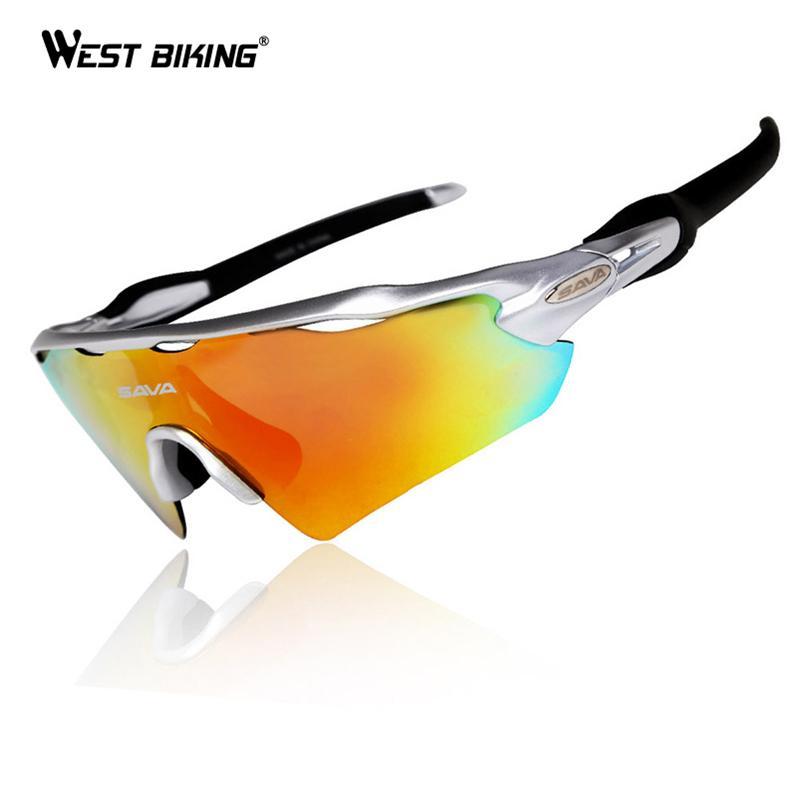 Compre Óculos De Bicicleta Óculos Polarizados 5 Lente Óculos De Sol ... 79e7b4b621