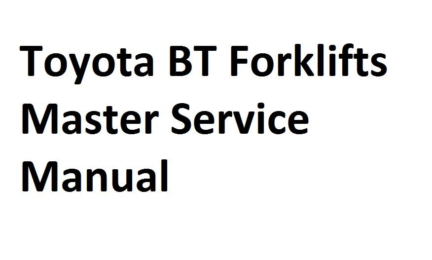 toyota bt forklifts master service manual client diagnostic tool computer diagnosis tools from. Black Bedroom Furniture Sets. Home Design Ideas