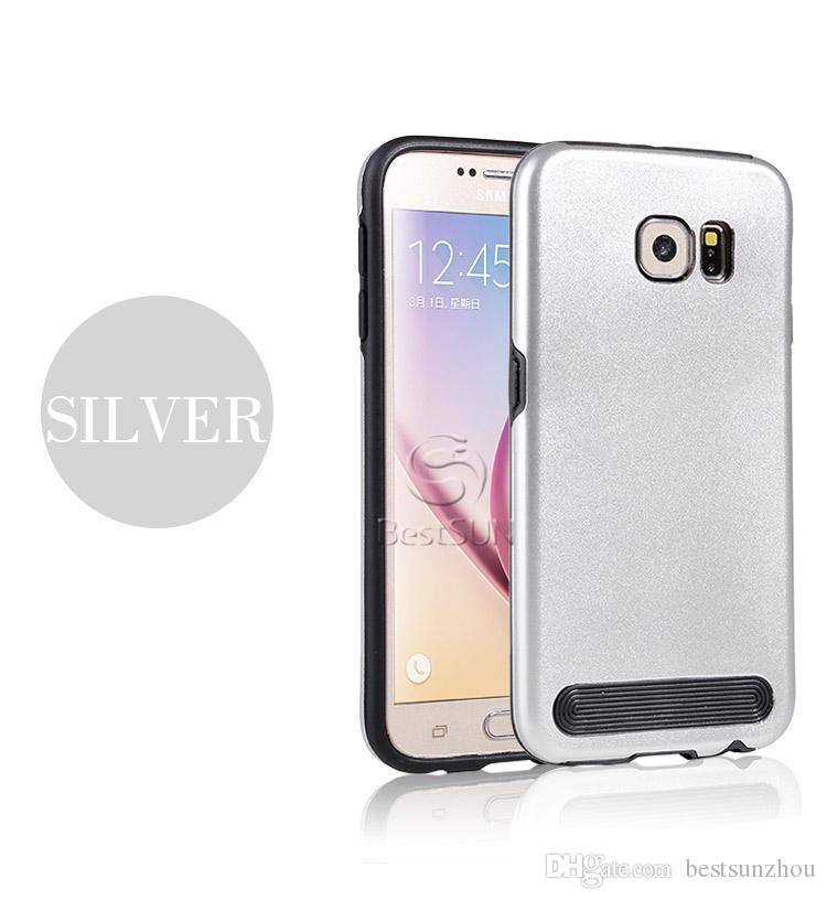 For Iphone 6S Case Motomo Luxury Metal Aluminum Brushed + PC Hard Back Cover Case Skin For iphone 6s plus Samsung Note5 G530 G360