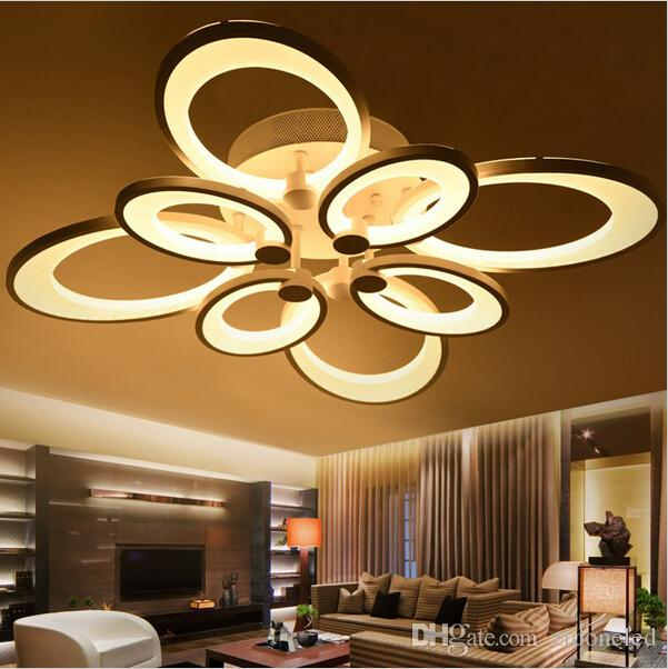 Remote Control Dimming Led Ceiling Lights Lamp for Living Room ...