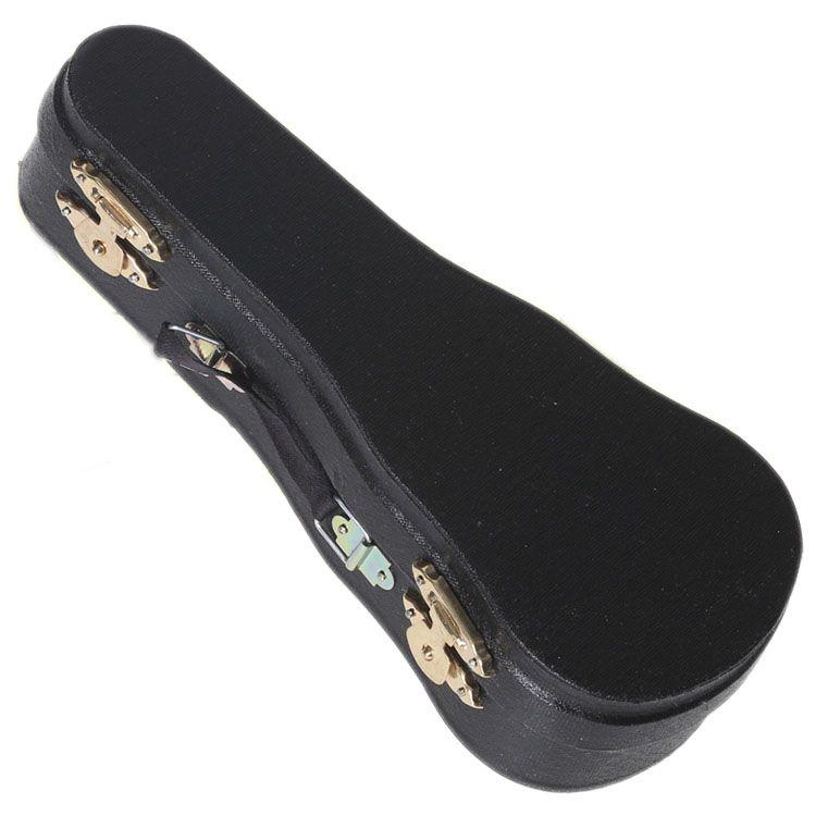 Бесплатная Доставка Деревянные Мини-Инструмент Гитара Украшения Деревянные Мини-Гитара Игрушка