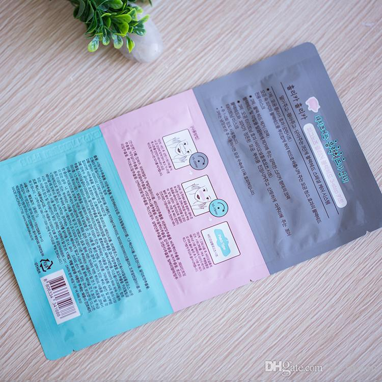 Schwein-Nasen-Maske Mitesser-Entferner-Nasen-Maske Drei-Stufen-Kit Deep Cleanser Korean Kosmetik Gesicht Nase Behandlung Maske Kostenloser Versand A-0367