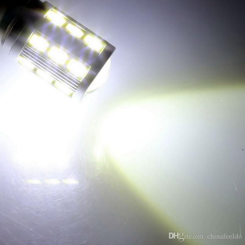 الأبيض السيارة 12V 9006 / HB4 33SMD 5630 LED ضوء الضباب لمبة مصباح # 4373