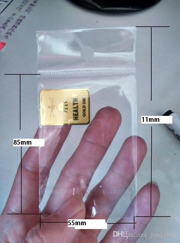 5G Schutz Herstellung Hotsale-Großhandel! 24K-Gold Handy Antistrahlungsaufkleber, Handyantistrahlungs Chip, /
