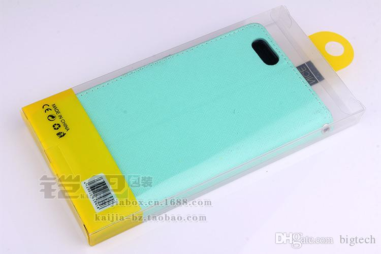 Universal Blister PVC Plastic Transparent Retail Packaging Box Package Inner Tray For Phone Case For iPhone 6/7 With Insert