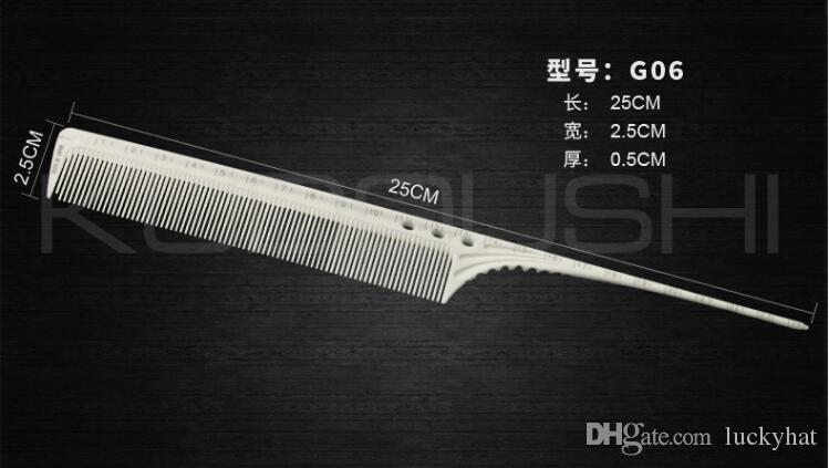 vendita di fabbrica pettini Y8 taglio pettini capelli grado di incisione laser non sbiadisce nuovi modelli di esplosione pettini bianchi prodotti capelli pettini la cura dei capelli