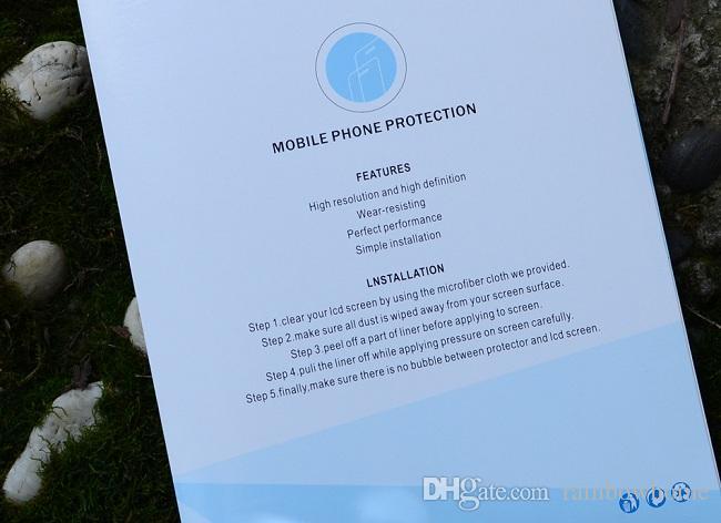 Carta da imballaggio vuota al dettaglio protezione dello schermo in vetro temperato Scatole imballaggio iPad Mini Air Pro 3 4 5 2017 10.5 12.9