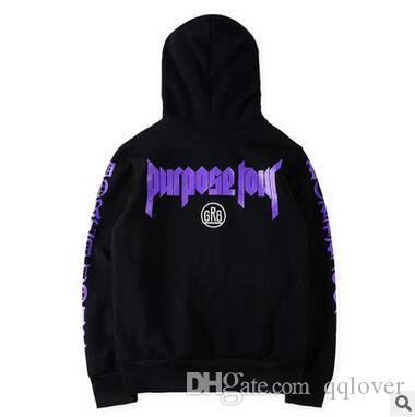 c5d7961a 2019 Union Brand Purpose Tour Stuff Hoodies Bieber Purple Letter Black Pullover  Hoodies GR8 Fleece Hooded Sweatshirts From Qqlover, $10.16 | DHgate.Com