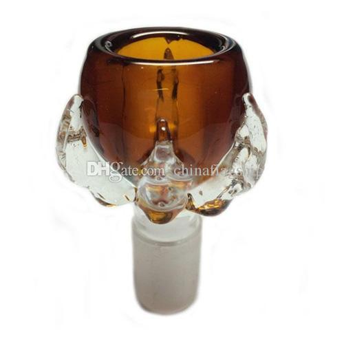 Alta calidad garra de dragón grueso garra macho 14.4mm 18.8mm tazón de vidrio para bongs de vidrio tubos de agua 14.4mm 18.8mm