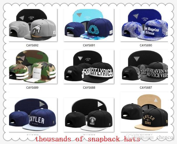 34cd3d7770c Snapbacks Ball Hats Fashion Street Headwear Adjustable Size Cayler   Sons  Custom Football Baseball Caps Drop Shipping Top Quality Hatland Brixton Hats  From ...